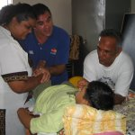 Visit of doctors from UK - Treating handicapped children