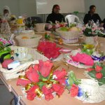 Handicraft works executed by pupils of ecole d'accompagnement