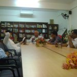 Meeting with Minister S.Mohamed July 2011