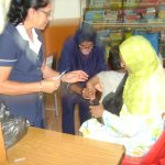 Vaccination campaign for SENS children July 2014