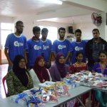 Distribution of school materials in collaboration with CCS,UOM-10th Jan 2015