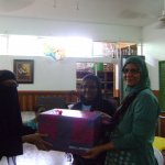 Retirement of a teacher of special needs school 15th Jan 2015