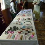 Beading works done by children of CSENS and prevoc school-May 2015
