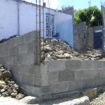 Construction of house at Military Road, from Zakat Fund—Nov 2015
