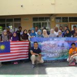Visit of Malaysian University students at Ass 28th January 2017